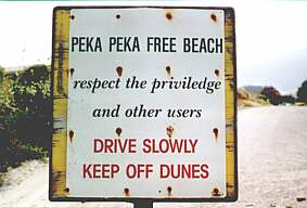 Pepapeka sign